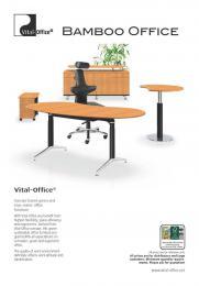Das Bambus Material Vital Office
