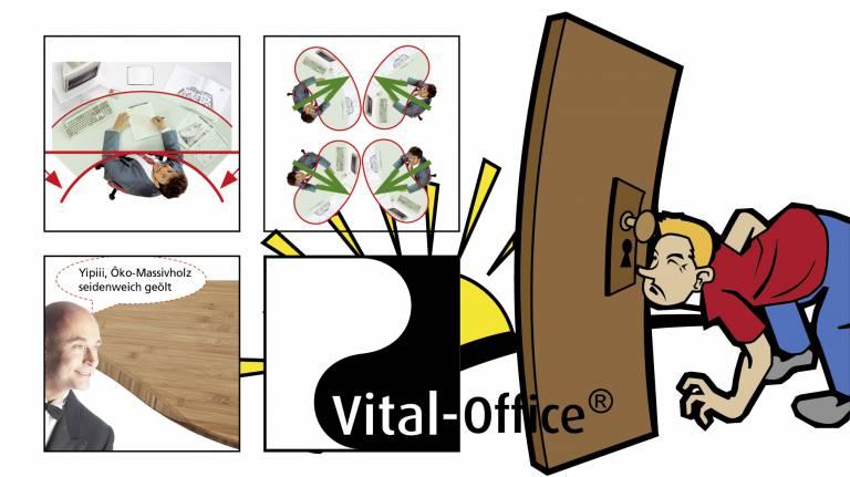 Konzept: Bürodesign, Ergonomie und FengShui...