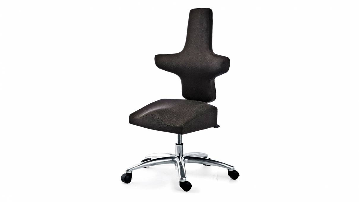 WEY-chair 106 mit Sattelsitz für höhenverstellbare Tische