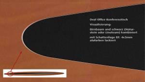 circon s-class 12m Konferenztisch für Vorstandsebene - Oval Office Hamburg