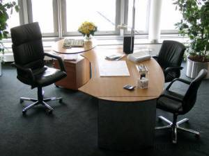 circon executive classic - Vorstandsbüros einer der größten Versicherungen in Schweizer Birnbaum und Hochglanz Chrom
