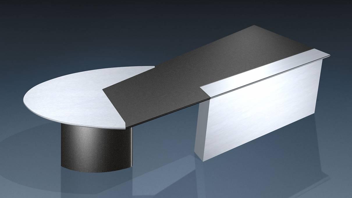circon executive jet - Chefschreibtisch - Design Black & White