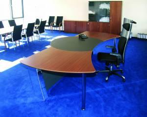 circon executive command - Chefschreibtisch - Mahagoni und Hochglanz