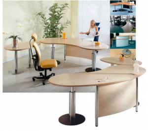 Schreibtische - infinity design c-style - Eleganz und Komfort mit der S-Klasse der infinitydesign Schreibtische