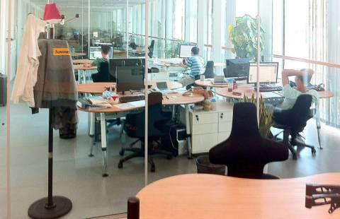 Jungheinrich Qingpu - Umweltfreundliche Bambus FengShui Büros