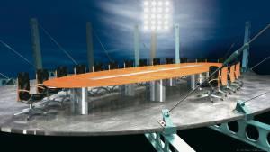 circon s-class - 8x3m - Oval-Elliptischer Konferenztisch für Aspecta, Hamburg