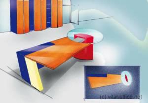 circon executive jet - Chefschreibtisch - Individuelles Design