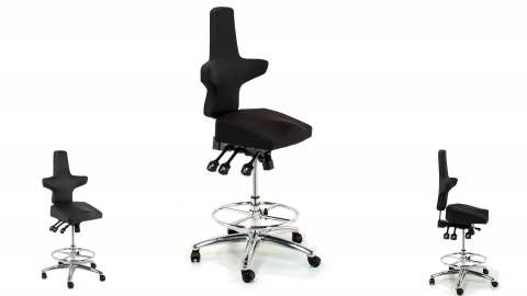 WEY-chair 106h Sattelstuhl Hochsitzer (Barstuhl)