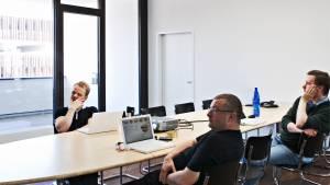 Variconferenz - Variable Konferenztische als Ellipse oder Bootsform