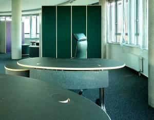 Büroeinrichtung - Eleganz, Ergonomie und Akustik