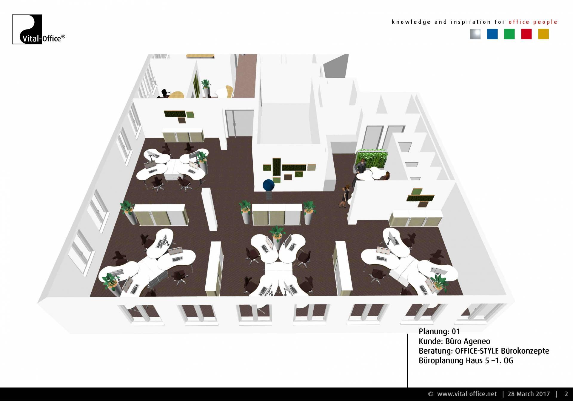 Büroplanung München Giesing Vital Office