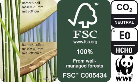 Das Bambus Material
