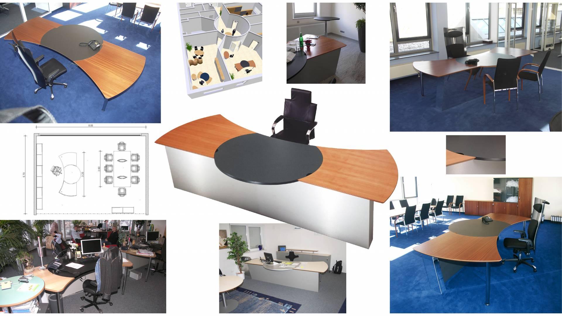circon executive command - Chefschreibtisch - Souveränes Arbeitsplatzdesign