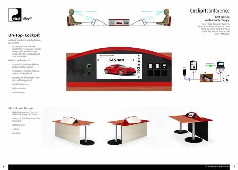 Cockpit Konferenz - best practice Kommunikationstechnik
