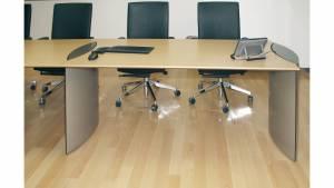 circon s-class - Rechteckiger Konferenztisch mit Erweiterungen