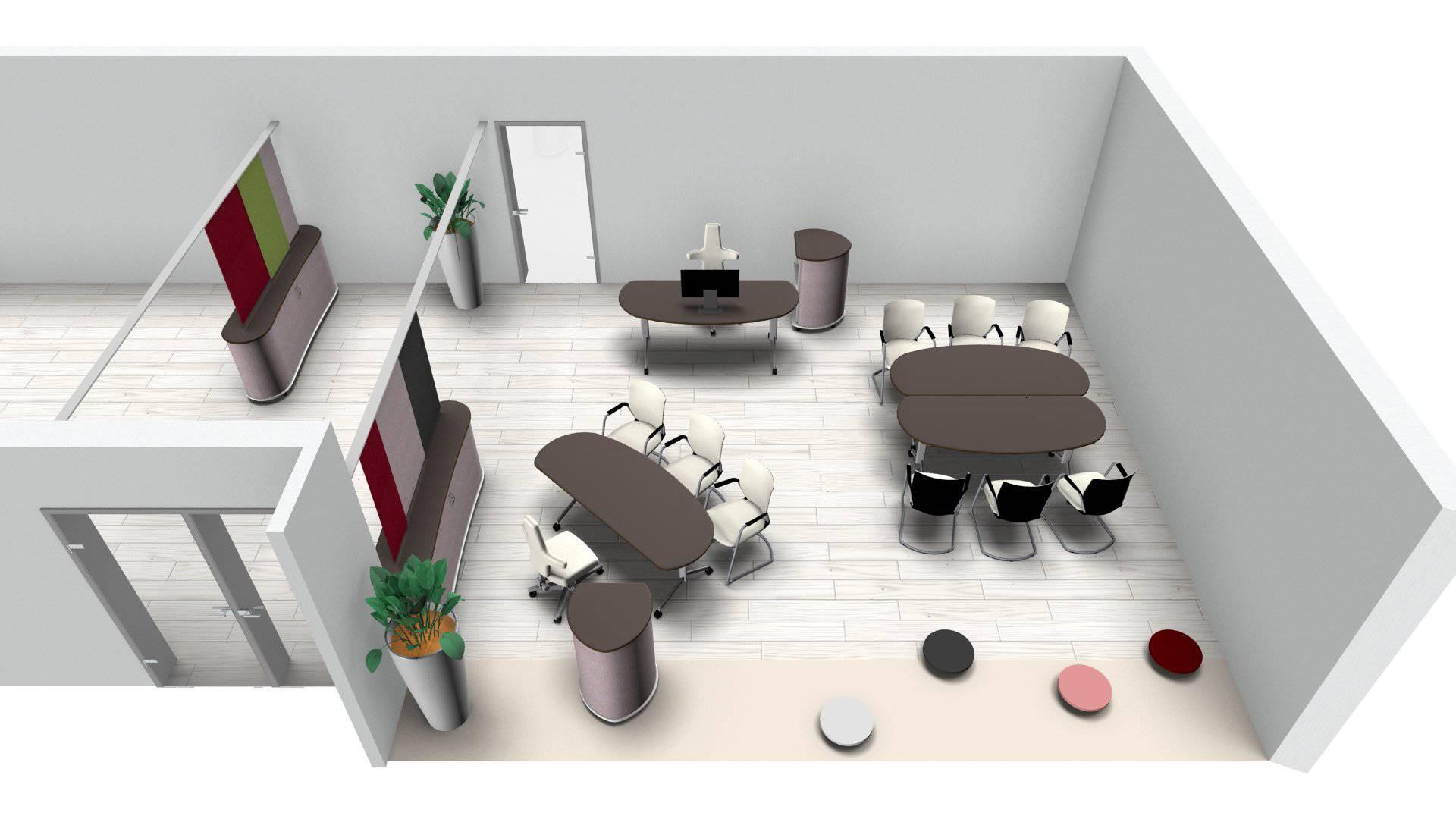 Büroplanung | Flexi-Konferenztische für Kunde aus Japan - Vital-Office