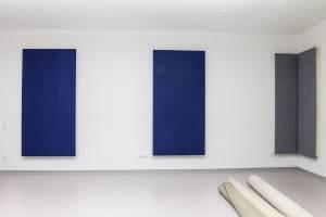vitAcoustic farbige und höchstabsorbierende Breitband Flächen-Wandabsorber