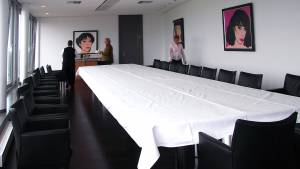 circon s-class - 9x2m - Rechteckiger Konferenztisch  für Aspecta, Hamburg