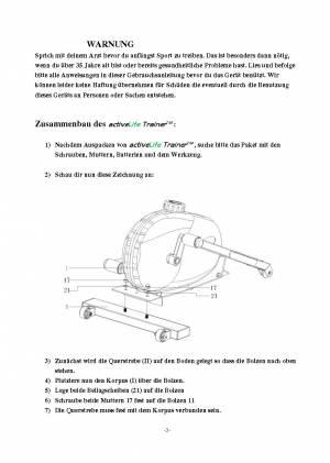 ActiveLifeTrainer - Installation und Setup