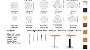 Varitable - Kombinierbare Tische