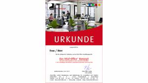 """13.05.2011 - Ausbildungsreihen 1&2:  1. """"Das Vital-Office Konzept"""" .. für mehr Lebensqualität in einer gesunden Bürowelt."""