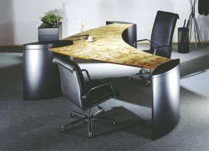 Cheftisch Command Tischplatte In Dekor 2180x1097mm Vital Office