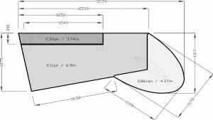 circon executive jet - Chefschreibtisch - Design Ambiente chrom