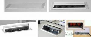 Flip-up und rotate Power-Units