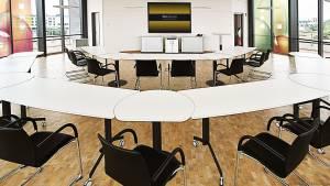flexiconference - Ein wandelbarer Konferenzraum der allen Anforderungen entspricht.