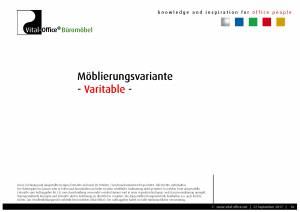 flexiconference in Bambus Massivholz - edle Konferenztischanlage