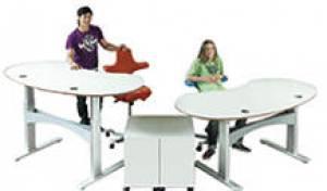 Schreibtische - infinity design - Ein vollkommen rundes, flexibles und ausbaufähiges Arbeitsplatzkonzept.