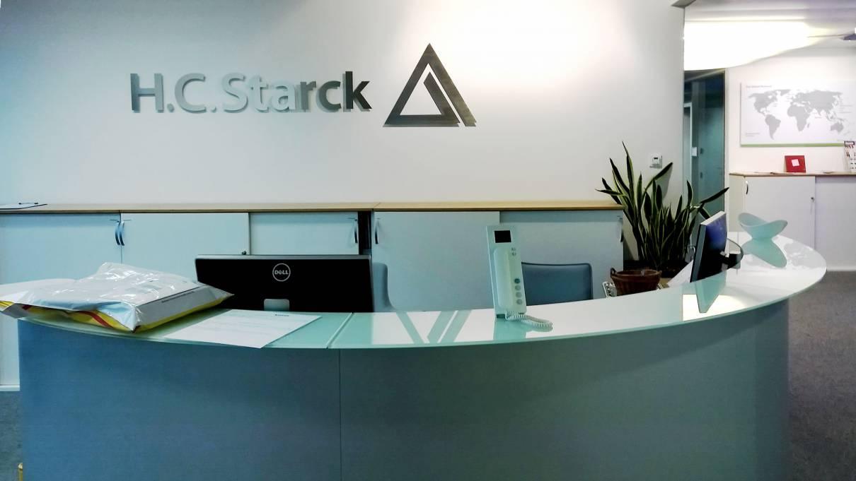 Vital-Office Design Rezeption für H.C. Starck München