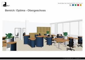 Maschinenbaufirma in Brazilien - Neuplanung aller Büros mit Akustikmöbel