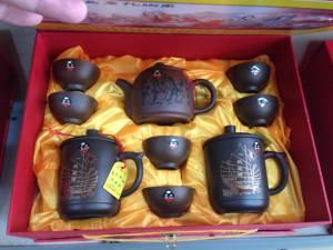 traditionelles Handwerk - Yxing Teekannen