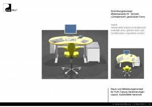 Büroplanung   Raum und Möblierungskonzept für HUK Coburg