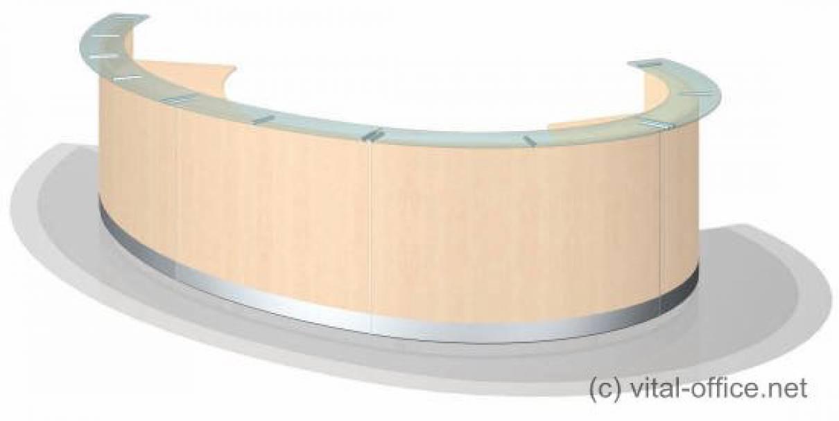 Design Rezeption in elliptischer Form