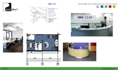 Vital-Office ergonomic planning IMS Gear Taicang