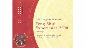 01. - 04.06.2000 - Feng Shui World Congress Innsbruck