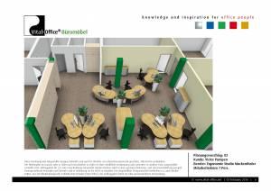 Planung für Ergonomiestudio Muckenthaler - Kunde: Victor Pumpen