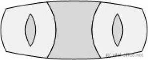 circon s-class - Edler repräsentativer Konferenztisch mit 3-teiliger Platte