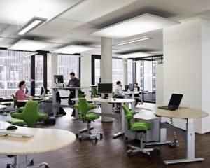 Gesundes Licht - vitalisierende Lichtplanung für Büroräume