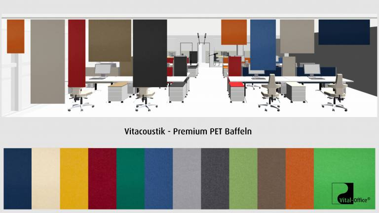 vitAcoustic - Panel Curtains - PREMIUM PET