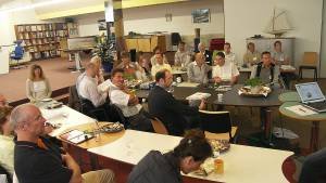 5.11.2008 - Abendvortrag in Straubenhardt bei Vital-Office GmbH, Holzbachtal 204 (im Teppichland), 75334 Straubenhardt