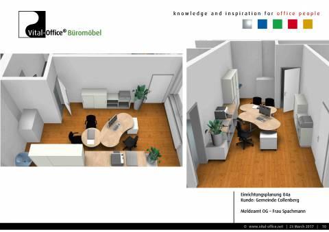 Büroplanung für die Gemeinde Collenberg