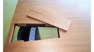 Schreibtisch circon Face Basistisch mit Auflage