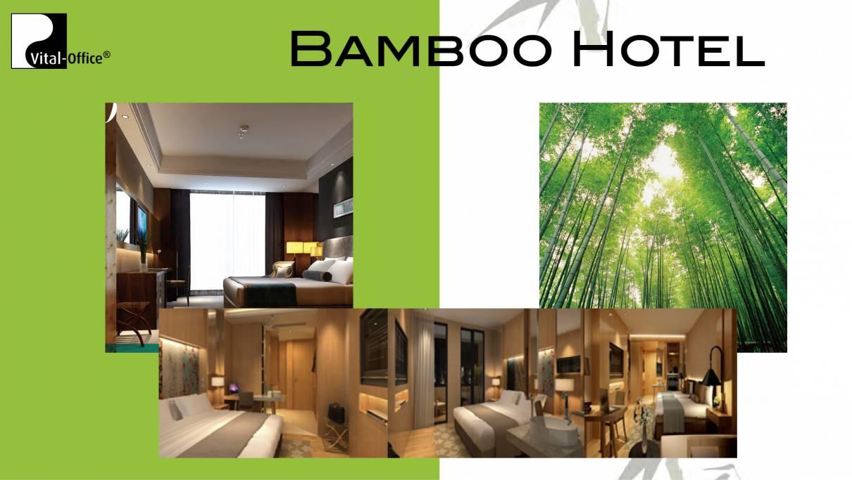 Bambus Hotel und Projekt Einrichtungen