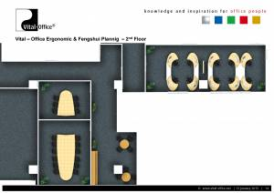 Büroplanung | Großraumprojekt Fresenius in Shanghai
