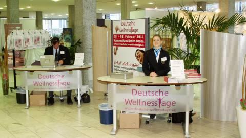 04.-05.02.2012 - Messe - Wellnesstage in Baden Baden Kongresshaus